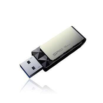 USB flash disk Silicon Power Blaze B30, 16GB, USB 3.0, černý