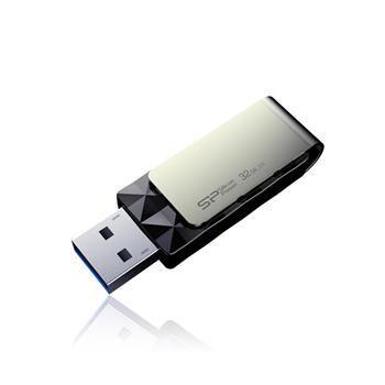 USB flash disk Silicon Power Blaze B30,  32GB, USB 3.0, černý