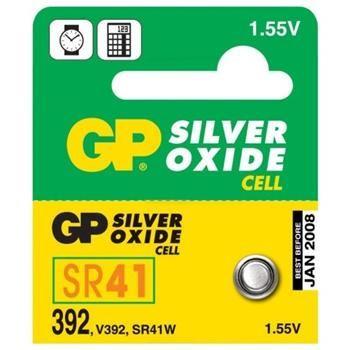 GP 379, knoflíková baterie na bázi oxidu stříbra kompatibilní s SR63, SR521SW