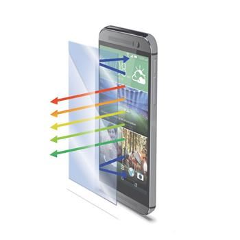 Ochranné tvrzené sklo CELLY Glass pro HTC One (M8) s ANTI-BLUE-RAY vrstvou