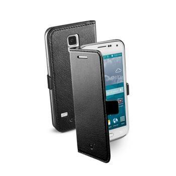 Pouzdro typu kniha CellularLine Book Essential pro Samsung Galaxy S5 Mini, černé