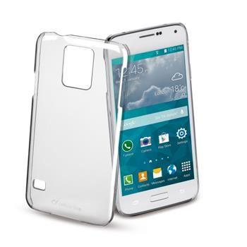 Zadní kryt CellularLine Invisible pro Samsung Galaxy S5 Mini, průhledný
