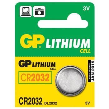 GP CR2032, knoflíková lithiová baterie kompatibilní s GP CR2032