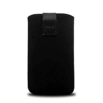 Univerzální pouzdro FIXED Velvet, mikroplyš, černé, velikost 4XL