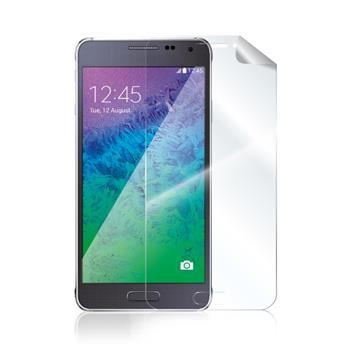 Prémiová ochranná fólie displeje CELLY pro Samsung Galaxy Alpha, lesklá, 2ks