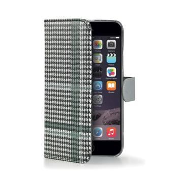 Pouzdro typu kniha CELLY Dandy pro Apple iPhone 6 Plus / 6S Plus, černé