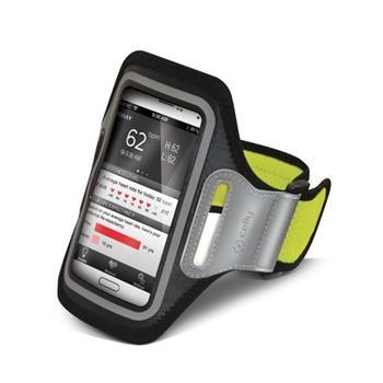 Sportovní neoprénové pouzdro CELLY, velikost XXL pro Samsung Galaxy S4 a telefony podobných rozměrů, žluté