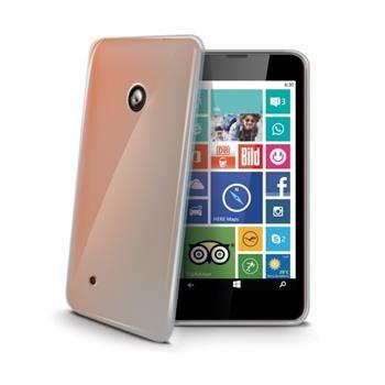 TPU pouzdro CELLY Gelskin pro Nokia Lumia 530, bezbarvé