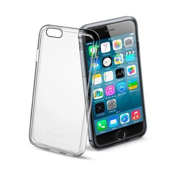 Zadní kryt CellularLine Invisible pro Apple iPhone 6/6S, průhledný