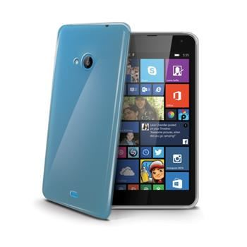 TPU pouzdro CELLY Gelskin pro Microsoft Lumia 535, bezbarvé (Nokia)