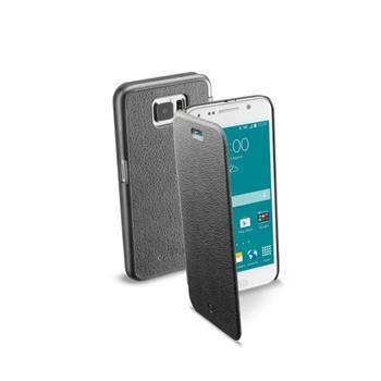 Pouzdro typu kniha CellularLine Book Essential pro Samsung Galaxy S6, černé