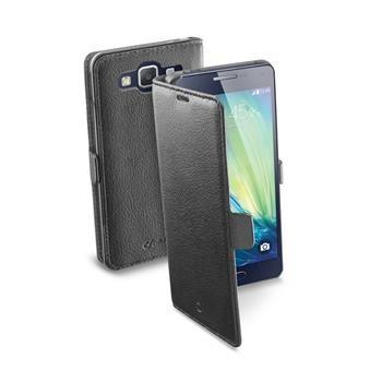 Pouzdro typu kniha CellularLine Book Essential pro Samsung Galaxy A5, černé