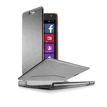 Pouzdro typu kniha CellularLine Book Essential pro Microsoft Lumia 535, černé (Nokia)