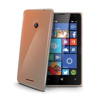 TPU pouzdro CELLY Gelskin pro Microsoft Lumia 435, bezbarvé (Nokia)