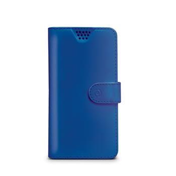 "Pouzdro typu kniha CELLY Wally Unica, velikost XL, 4.5"" - 5"", modré"