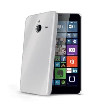 TPU pouzdro CELLY Gelskin pro Microsoft Lumia 640 XL / 640 XL Dual SIM, bezbarvé
