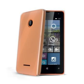 TPU pouzdro CELLY Gelskin pro Microsoft Lumia 532, bezbarvé