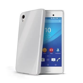 TPU pouzdro CELLY Gelskin pro Sony Xperia M4 Aqua, bezbarvé