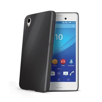TPU pouzdro CELLY Gelskin pro Sony Xperia M4 Aqua, černé