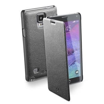 Pouzdro typu kniha CellularLine Book Essential pro Samsung Galaxy NOTE 4, černé