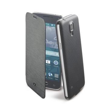 Pouzdro typu kniha CellularLine Backbook pro Samsung Galaxy S5 mini, černé