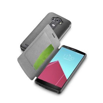Pouzdro typu kniha CellularLine Book Essential pro LG G4, černé