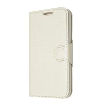 Pouzdro typu kniha FIXED s gelovou vaničkou pro Samsung Galaxy Core Prime, G360, bílé