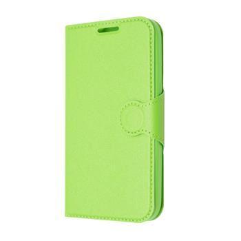 Pouzdro typu kniha FIXED s gelovou vaničkou pro Samsung Galaxy Core Prime, G360, zelené