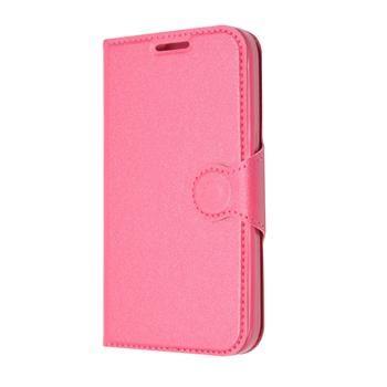 Pouzdro typu kniha FIXED s gelovou vaničkou pro Samsung Galaxy Core Prime, G360, růžové