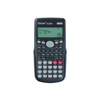 Vědecký kalkulátor REBELL se 417 funkcemi a bodovým displejem
