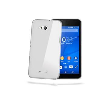 TPU pouzdro CELLY Gelskin pro Sony Xperia E4g, bezbarvé