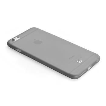 Ultra tenké TPU pouzdro CELLY Frost pro Apple iPhone 6/6S, 0,29 mm, černé