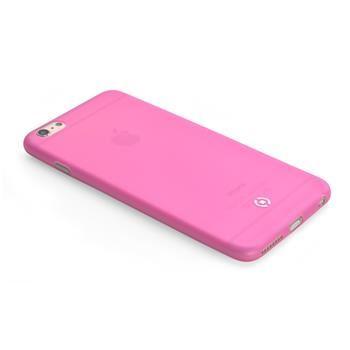 Ultra tenké TPU pouzdro CELLY Frost pro Apple iPhone 6/6S, 0,29 mm, růžové