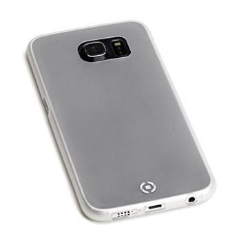 Ultra tenké TPU pouzdro CELLY Frost pro Samsung Galaxy S6, 0,29 mm, bílé