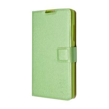 Pouzdro typu kniha FIXED s gelovou vaničkou pro Lenovo A2010, zelené