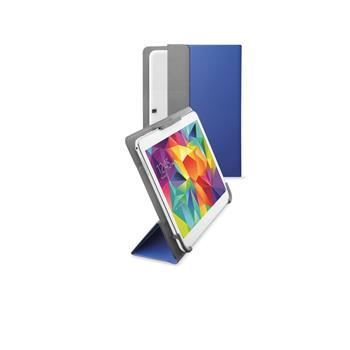 """Univerzální pouzdro se stojánkem CellularLine FLEXY pro tablety Samsung do velikosti 10,5"""", modré"""