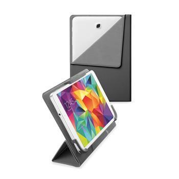 """Univerzální pouzdro se stojánkem CellularLine FLEXY pro tablety Samsung do velikosti 8,4"""", černé"""