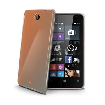 TPU pouzdro CELLY Gelskin pro Microsoft Lumia 430, bezbarvé