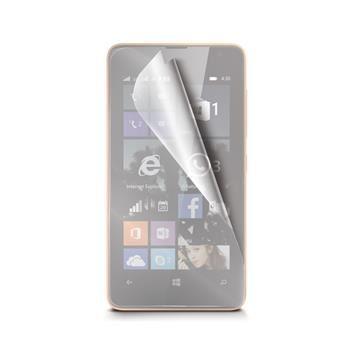 Prémiová ochranná fólie displeje CELLY pro Microsoft Lumia 430, lesklá, 2ks