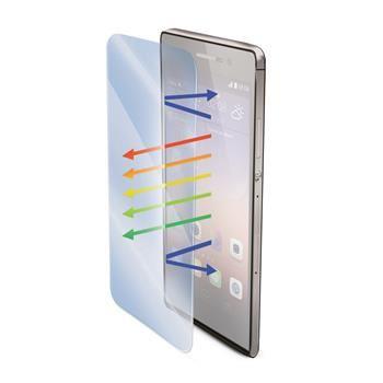 Ochranné tvrzené sklo CELLY Glass antiblueray pro Huawei P8 s ANTI-BLUE-RAY vrstvou
