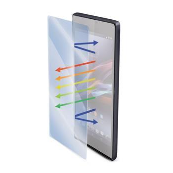 Ochranné tvrzené sklo CELLY Glass antiblueray pro Sony Xperia Z3+ s ANTI-BLUE-RAY vrstvou