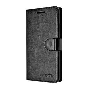 Pouzdro typu kniha FIXED FIT pro Huawei P8, kolekce RedPoint, černé