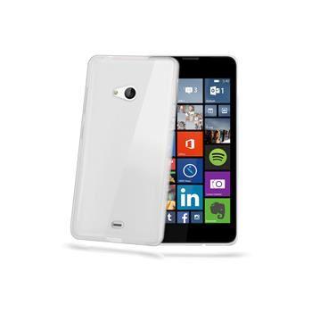 TPU pouzdro CELLY Gelskin pro Microsoft Lumia 540 / 540 Dual SIM, bezbarvé