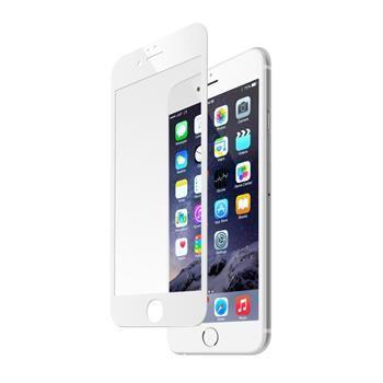 Ochranné tvrzené sklo FIXED pro Apple iPhone 6/6S přes celý displej, bílé, 0.33 mm