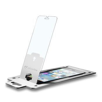 Ochranné tvrzené sklo s aplikátorem CellularLine Glass EASY FIX pro Apple iPhone 6/6S