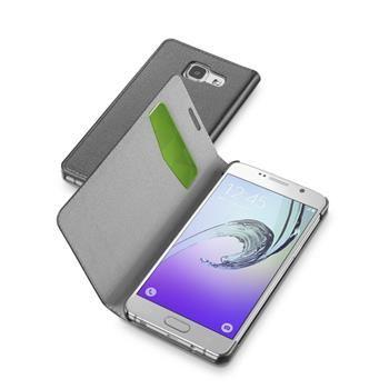 Pouzdro typu kniha CellularLine Book Essential pro Samsung Galaxy A3 (2016), černé
