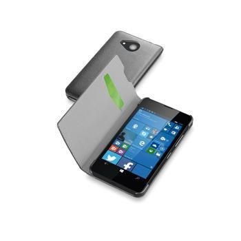 Pouzdro typu kniha CellularLine Book Essential pro Microsoft Lumia 550, černé