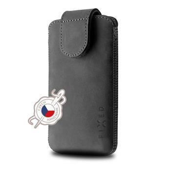 Kožené pouzdro FIXED Posh pro Apple iPhone 6/6S/7, černé