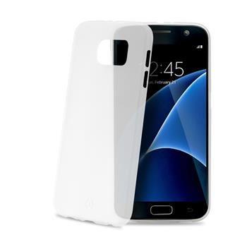 Ultra tenké TPU pouzdro CELLY Frost pro Samsung Galaxy S7, 0,29 mm, bílé