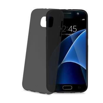 Ultra tenké TPU pouzdro CELLY Frost pro Samsung Galaxy S7, 0,29 mm, černé